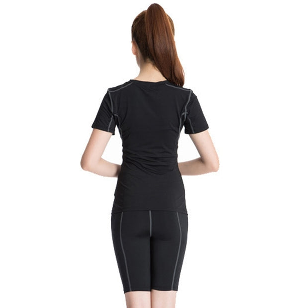 Women Yoga Top Sport Shirt Breathable Vests Jersey Short Sleeve Shirts Bodybuilding Vest Fitness Gym Running Sports Top
