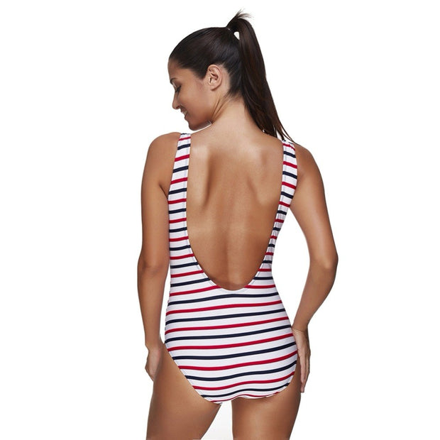 Women's Racerback One Piece Swimsuits Swimwear Bathing Suits Sports Quick Dry Flexible Sexy Swimwear For Lady