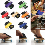 Wooden Fingerboard Professional Finger SkateBoard Wood Basic Fingerboars With Bearings Wheel Foam Tape Set 7 Colours