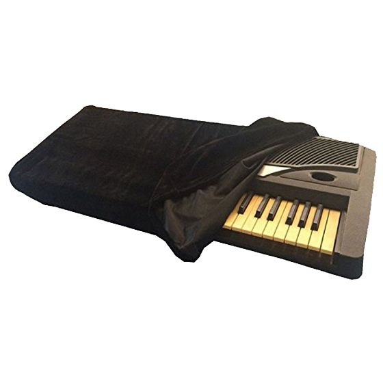 XFDZ-Piano Keyboard Cover, Stretchable Dust Cover With Adjustable Elastic Cord And Locking Clasp For 88 Keys Electronic Keyboa