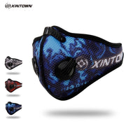 XINTOWN Brand New Anti-dust Half Face Masks With Filter Cycling Dust Mask Bicycle Bike Training Outdoor Sport Anti Dust Mask