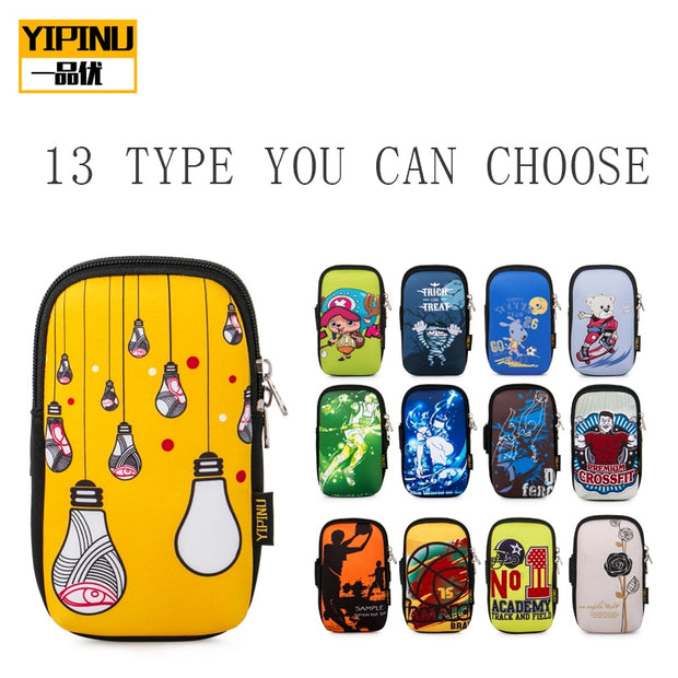 Yipinu Running Bags YA13 S Size Sports Exercise Running Gym Armband Pouch Holder Case Bag For Cell Phone