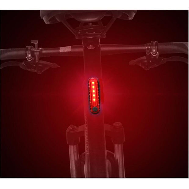 Bike Lights Seatpost Battery Mtb Light Size:7*2*1.7cm USB Road Mountain Bicycle Rear Light Accessories Bicycle Bike Lights