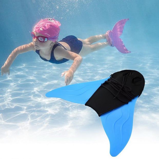 Style Webbed Children Mermaid Swimming And Blue Adult Ankle Equipment Siamese
