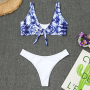Swimsuit Bikini Women's Print Floral Surf Suit Prone Swimsuit Swimwear Two Wpiece Beachwear Maio Feminino Praia Biquini 2019 #7