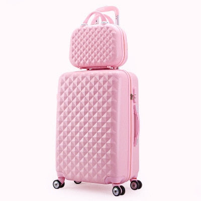2PCS/SET Fashion Cosmetic Luggage
