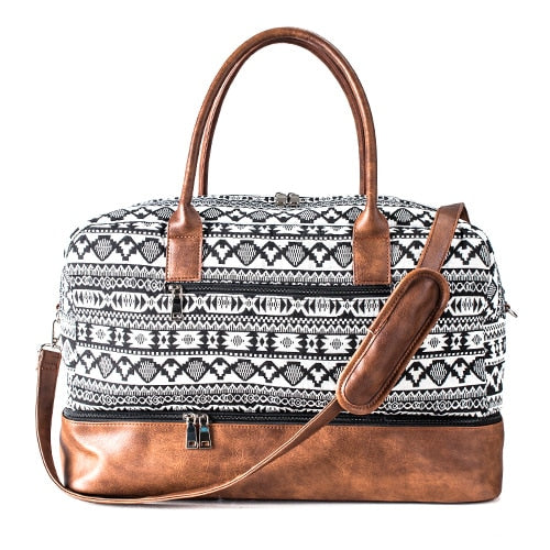 Large Canvas Duffel Bag