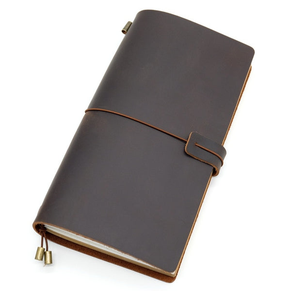 100% Genuine Leather Traveler's Diary