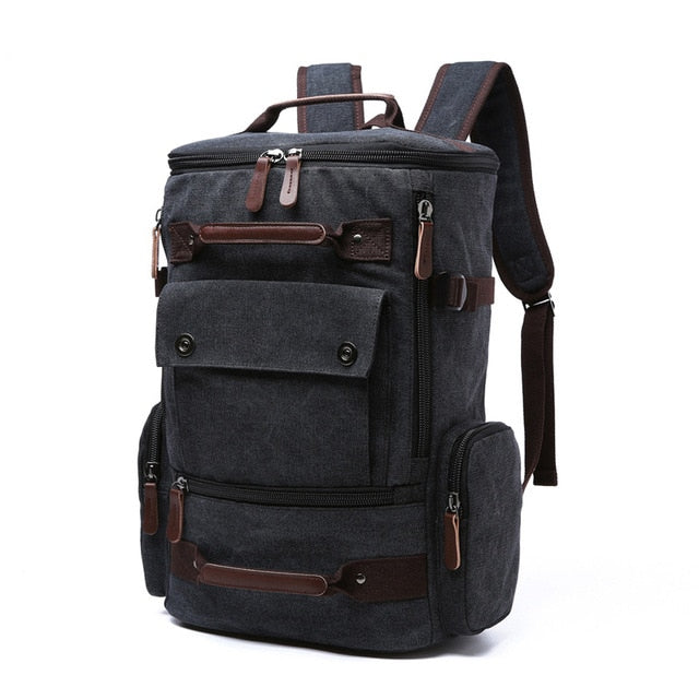 Vintage Large Capacity Backpack