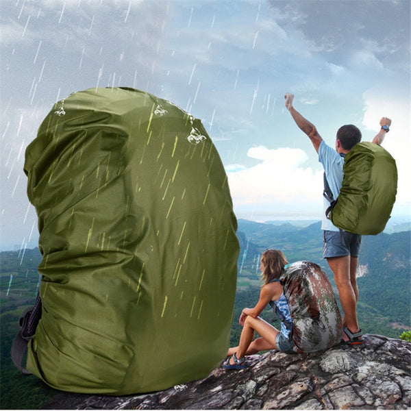 35-80L 1pcs Nylon Army Green Rain Cover