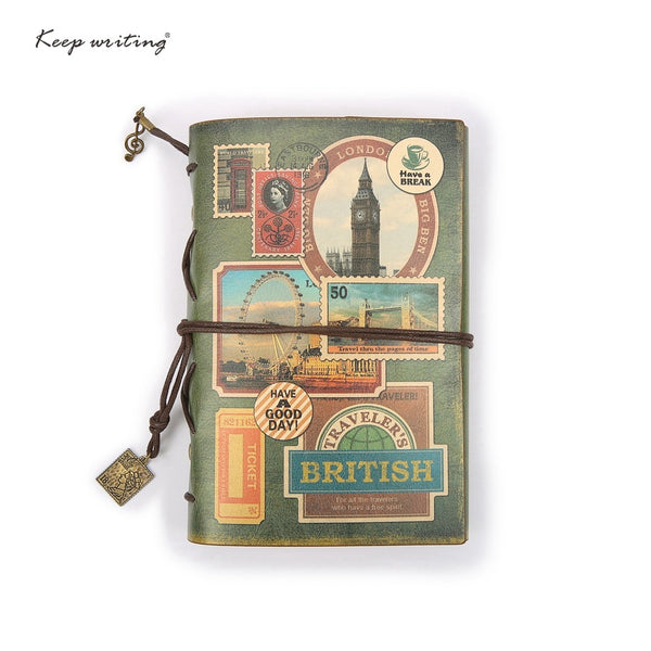 Retro  Travelers Notepad