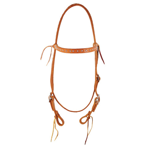 "5/8"" Dotted HL Browband Headstall"