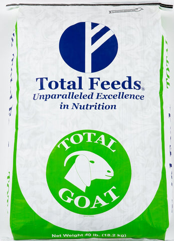 Total Goat Food 40-lb bag by Total Feeds