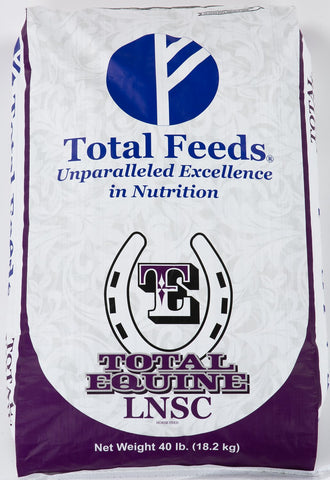 Total Equine LNSC Horse Food 40 lb bag by Total Feeds