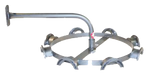 DHS8A Deluxe Rotary Headstall Rack