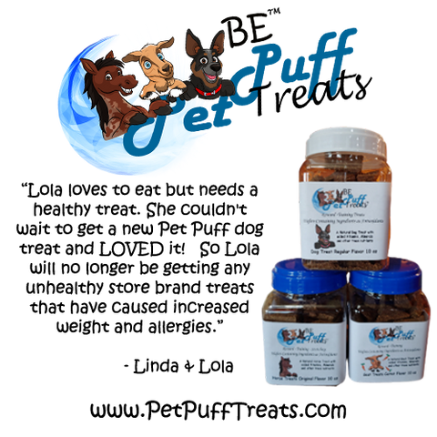 BE™ PetPuff Treats™