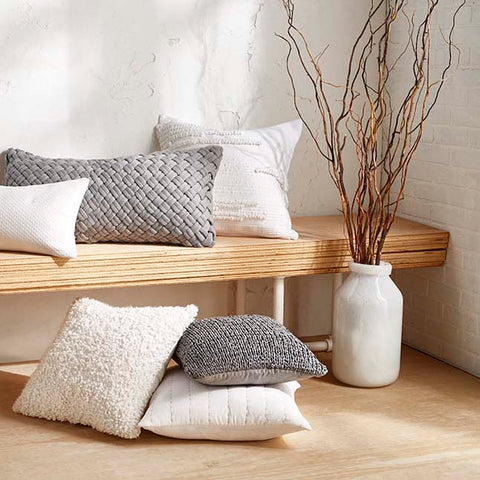 DKNY Pure decorative pillows for the home