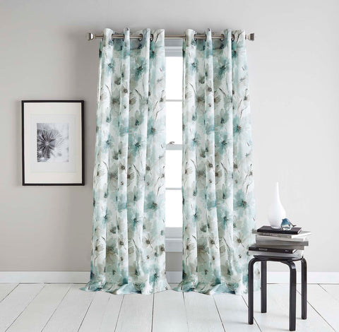 DKNY Modern Bloom Curtains