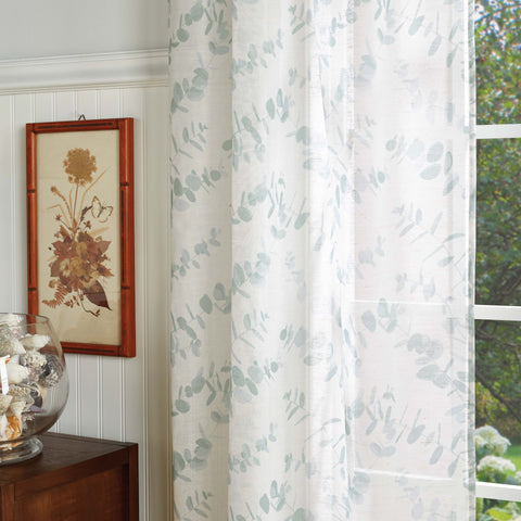 Martha Stewart Eucalyptus curtains
