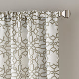 Lotus Harmony Poletop Window Curtain Panel Linen