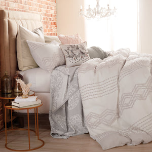 Peri Home Cut Geo Comforter Bedding Collection
