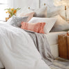 Peri Home Dot Fringe Comforter Bedding Collection White