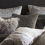 Michael Aram Metallic Knit Decorative Pillow