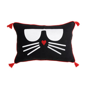 Karl Lagerfeld Paris Choupette Decorative Pillow