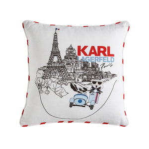Karl Lagerfeld Paris Paris Sidecar Decorative Pillow