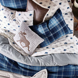 G.H. Bass Heartland Plaid Comforter Set