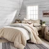 G.H. Bass Colorblock Sherpa Comforter Set