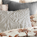 Peri Home Vintage Tile Comforter Bedding Collection Set Grey
