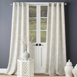 Bedeck Ziba Window Curtain Panel Grey