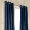 Curtainworks Messina Grommet Window Curtain Panel Navy