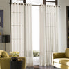 Curtainworks Soho Voile Grommet Window Curtain Panel Oyster