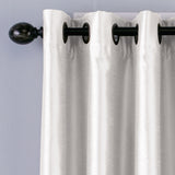 Curtainworks Malta Window Curtain Panel White