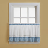 Curtainworks Jayden Tier Blue