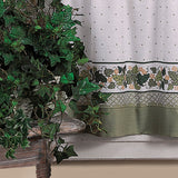 Curtainworks Cottage Ivy Tier & Valance Set