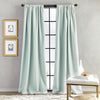 Bloomsbury Microsculpt Window Curtain Panel Seafoam