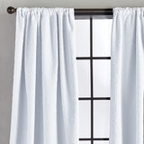 Bloomsbury Microsculpt Window Curtain Panel White
