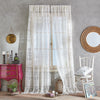 Peri Home Boho Lace Window Curtain Panel
