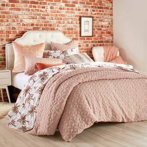 Peri Home Raised Petal Comforter Bedding Collection