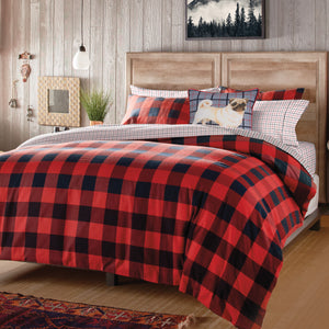 G.H. Bass & Co. Buffalo Check Bedding Comforter Set