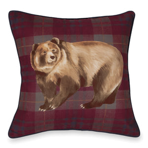 G.H. Bass & Co. Bear Decorative Pillow