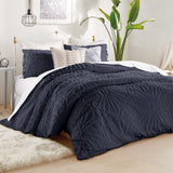 Peri Home Chenille Medallion Comforter Set