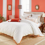 Peri Home Tassel Border Comforter Bedding Collection