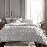 Murmur Chenille Honeycomb Comforter Bedding Collection