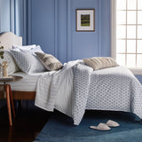 Murmur Blue Tile Comforter Bedding Collection