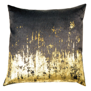 Michael Aram Distressed Metallic Decorative Pillow