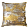 Michael Aram Distressed Metallic Velvet Decorative Pillow